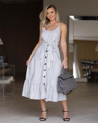 vestido de verano largo