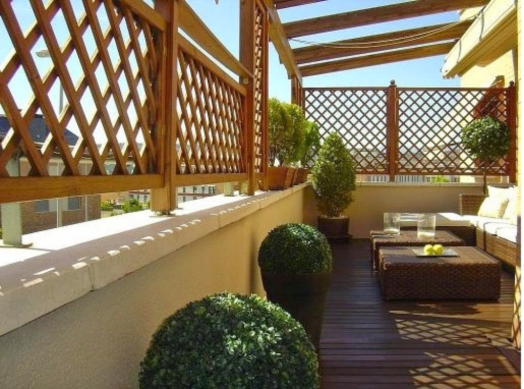 consejos para decorar jardines en terrazas y balcones revista tendenciadeco. Black Bedroom Furniture Sets. Home Design Ideas