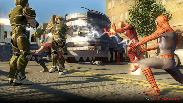 Marvel Ultimate Aliance 2 Gameplay Screenshot 1