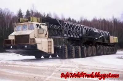 Mobil truk terbesar di dunia