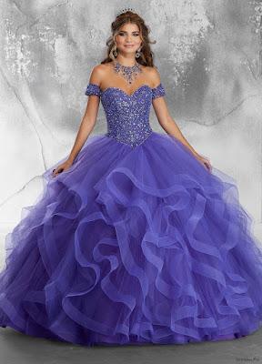 Vestidos de XV Años para Fiesta Color Violeta