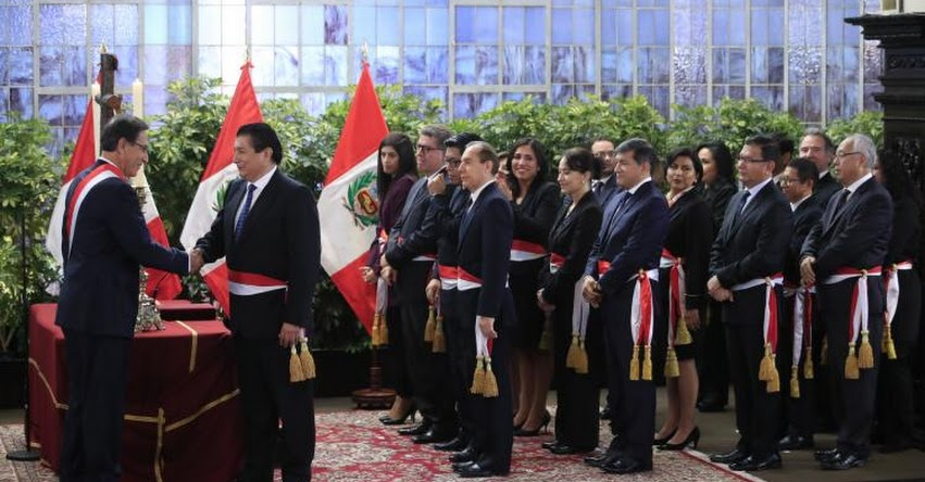 NUEVOS MINISTROS GABINETE ZEBALLOS: Conoce a los nuevos Ministros de Estado que juramentó hoy el Presidente Vizcarra
