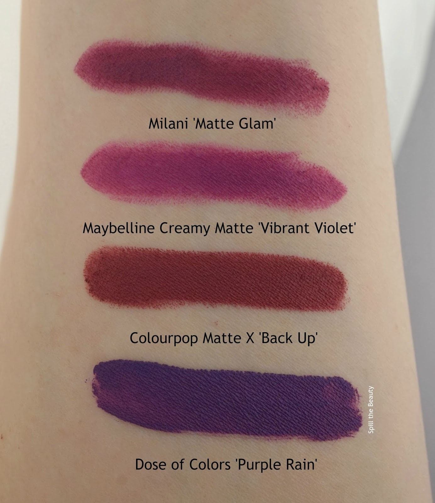 milani maybelline dose of colors lippie stix