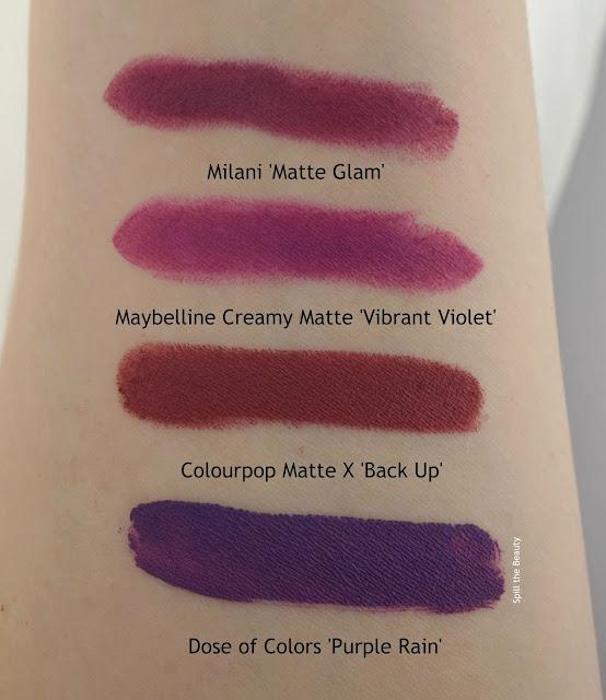 milani maybelline dose of colors lippie stix