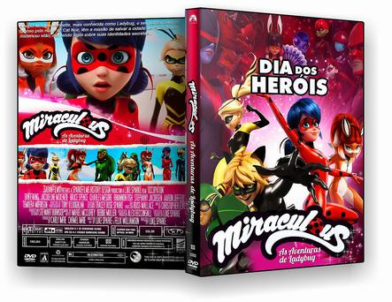 CAPA DVD – Miraculous As Aventuras Da Ladyburg Dia Dos Heróis – ISO