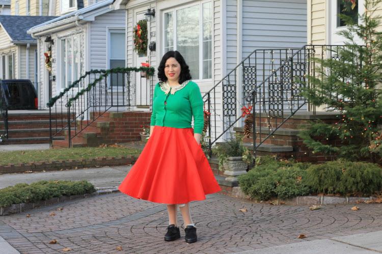 A Vintage Nerd Retro Christmas Fashion Unique Vintage Style Inspiration