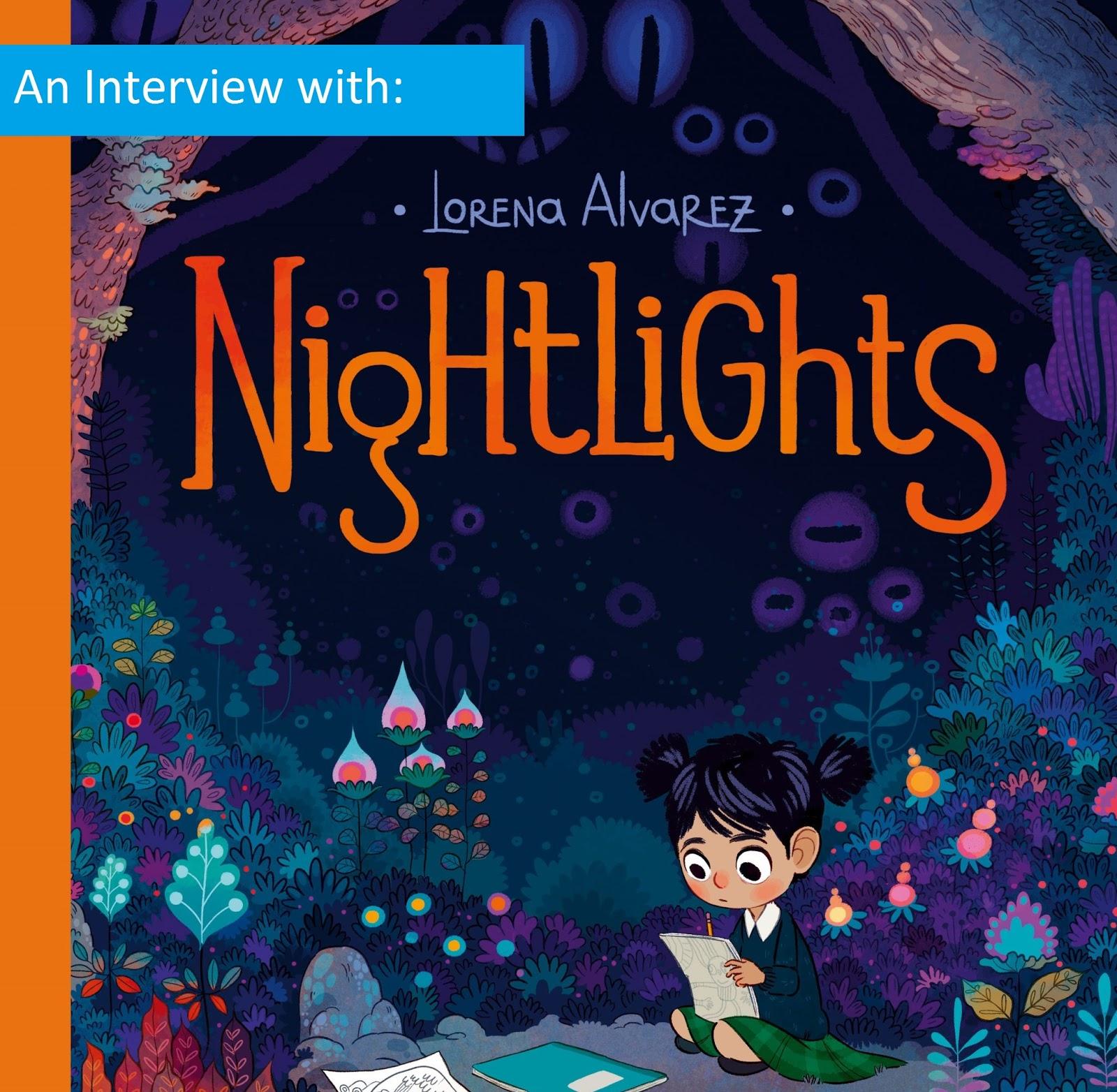 Colour childrens literature -  Cover Of Nightlights For The First Time In The Nobrow Catalogue I Knew That I Had Been Hooked There Was Something About The Style And Colour Of That