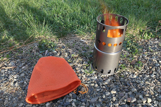 (Photo Review) Toaks Wood Burning Stove