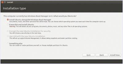install ubuntu dalam bersma windows