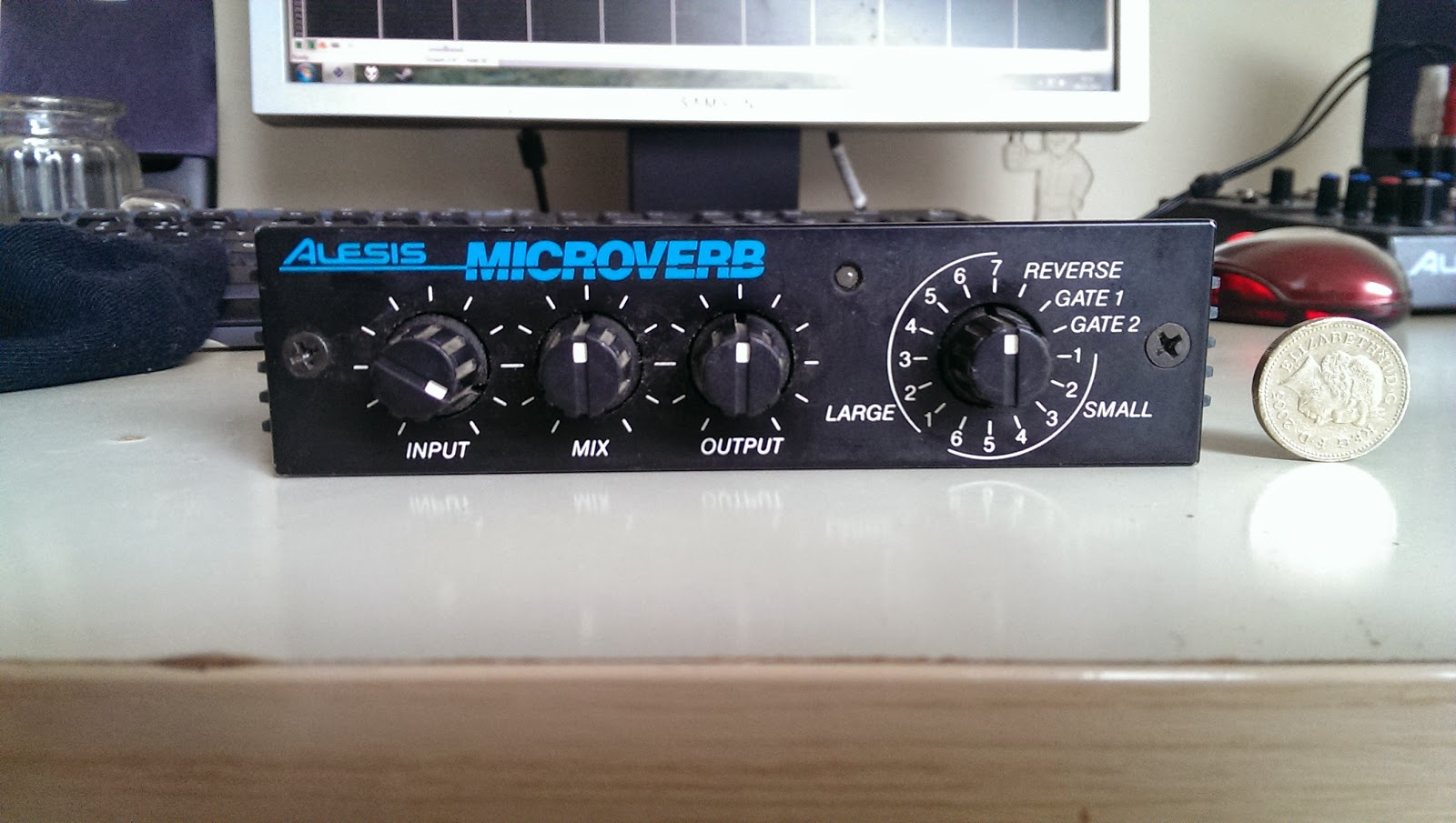 The Music bunker: Reverb Units part 1: Alesis MicroVerb