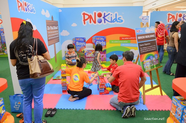 Fun activities for parents and kids at the grand launch ceremony of PNKids at 1 Utama