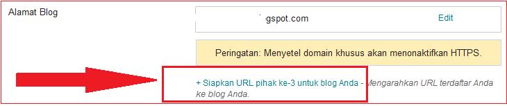 Cara Pointing Domain Dari Situs Unlimited.id Ke Blogspot