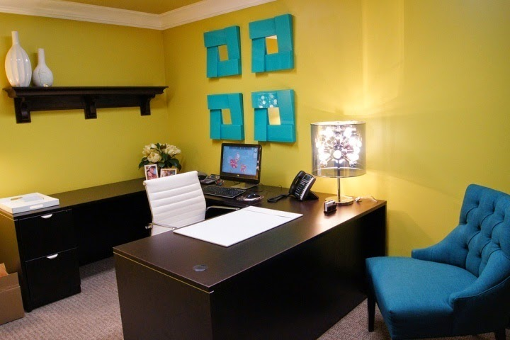 small office wall color ideas