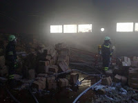 Požar poslovna zona Nerežišća slike otok Brač Online