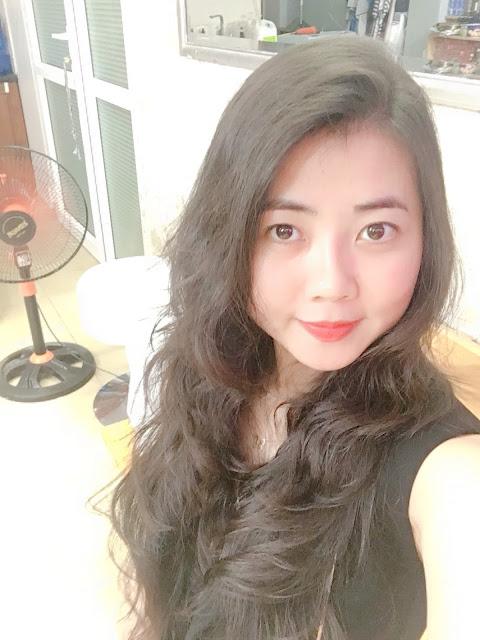 Uốn tóc xoăn sóng Lơi Hàn Quốc đẹp không mất công chăm sóc