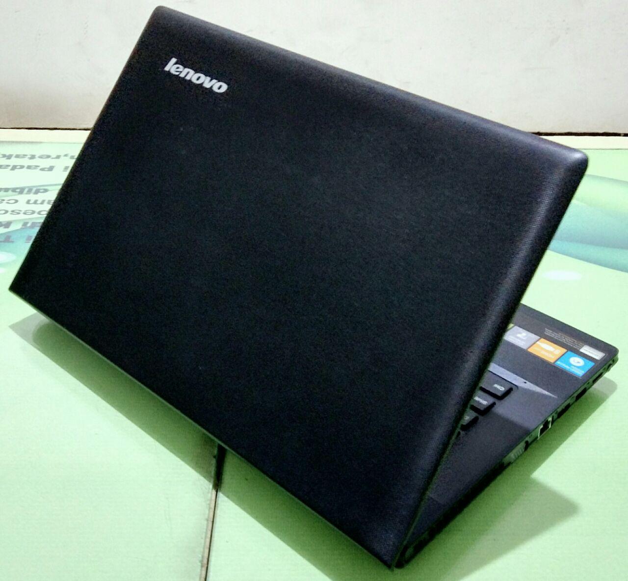 Wahana Cipta Utama Laptop Bekas Notebook Second Tas Lenovo Original Kelengkapan Unit Adaptor