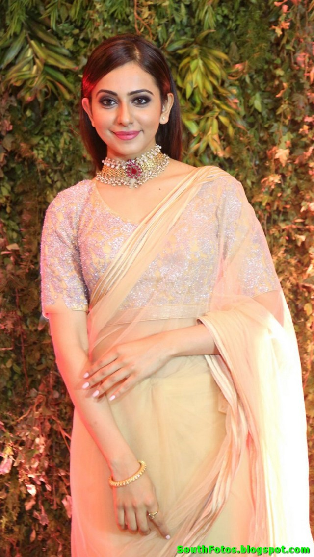 Rakul Preet Singh Hot in Saree Photos