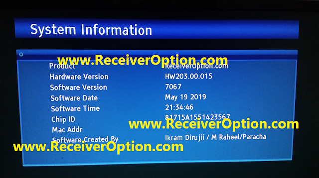 GX6605S HW203.00.015 POWERVU KEY SOFTWARE NEW UPDATE 105E 68E 66E FULL OK