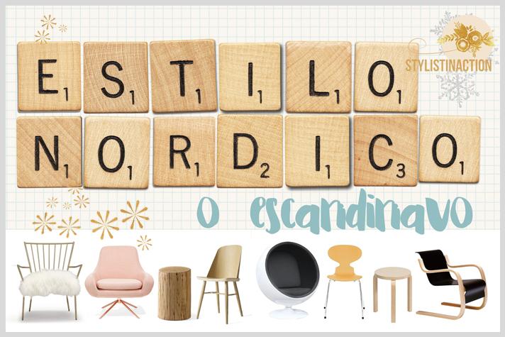 estilo nordico portada post con imagenes de sillas iconos del diseño escandinavo