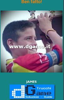 Soluzioni Guess the child footballer livello 25