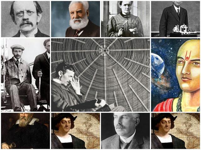 वैज्ञानिक खोजे-और उनके खोजकर्ता.Scientific discoveries-and their finders