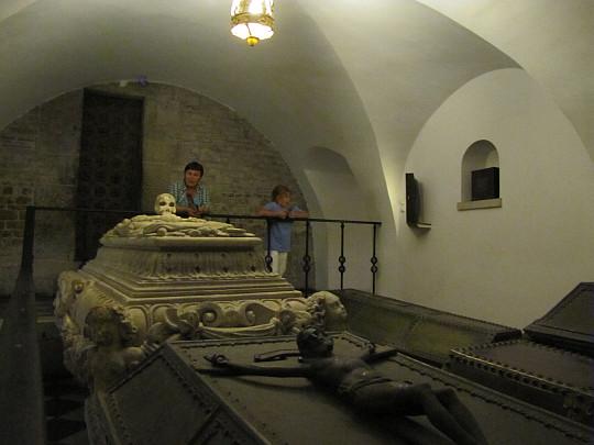 Katedra Wawelska. Krypta Wazów.