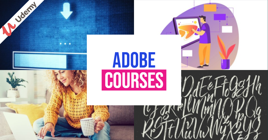 Adobe Courses Free For a Limited Time on Udemy