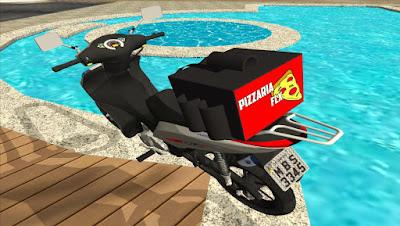 Mod , Moto , HONDA BIZ ENTREGA DE PIZZA para GTA San Andreas, GTA SA