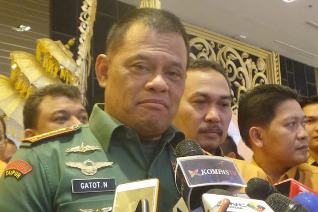 Dilamar 5 Parpol, Panglima TNI: Saya Tidak Berpikir Pilpres 2019
