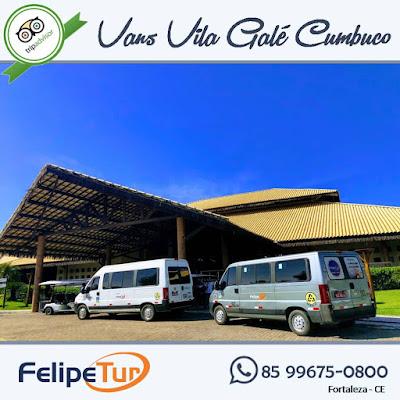 Quantos quilômetros do aeroporto de Fortaleza para o Resort Vila Galé Cumbuco em Caucaia