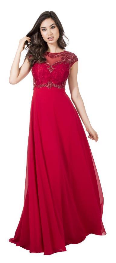 vestido vermelho de formatura  ou madrinha de casamento