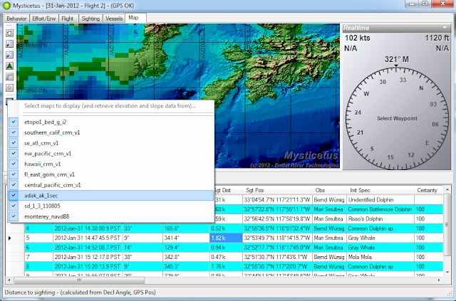 Past Update (super high res bathymetry/topography