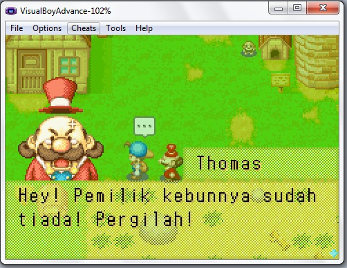 Harvest Moon: Friends of Mineral Town Indonesia (Indonesian Patch)