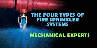 the four types of fire sprinkler systems