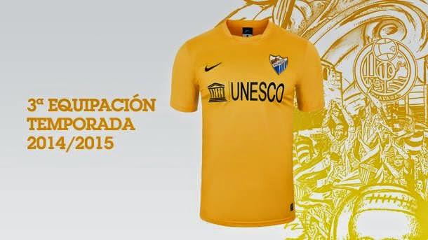 Tercera equipación del Málaga 2014 - 2015 f1cff40fdd9