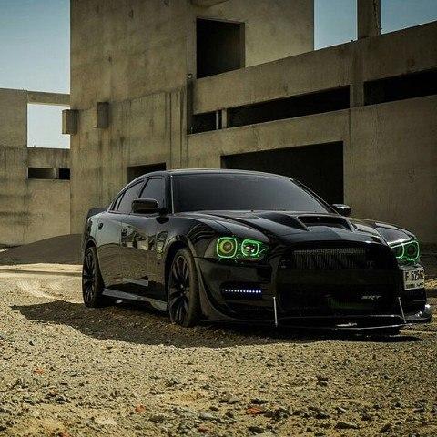 Severe predatory Dodge Charger SRT8 999999999
