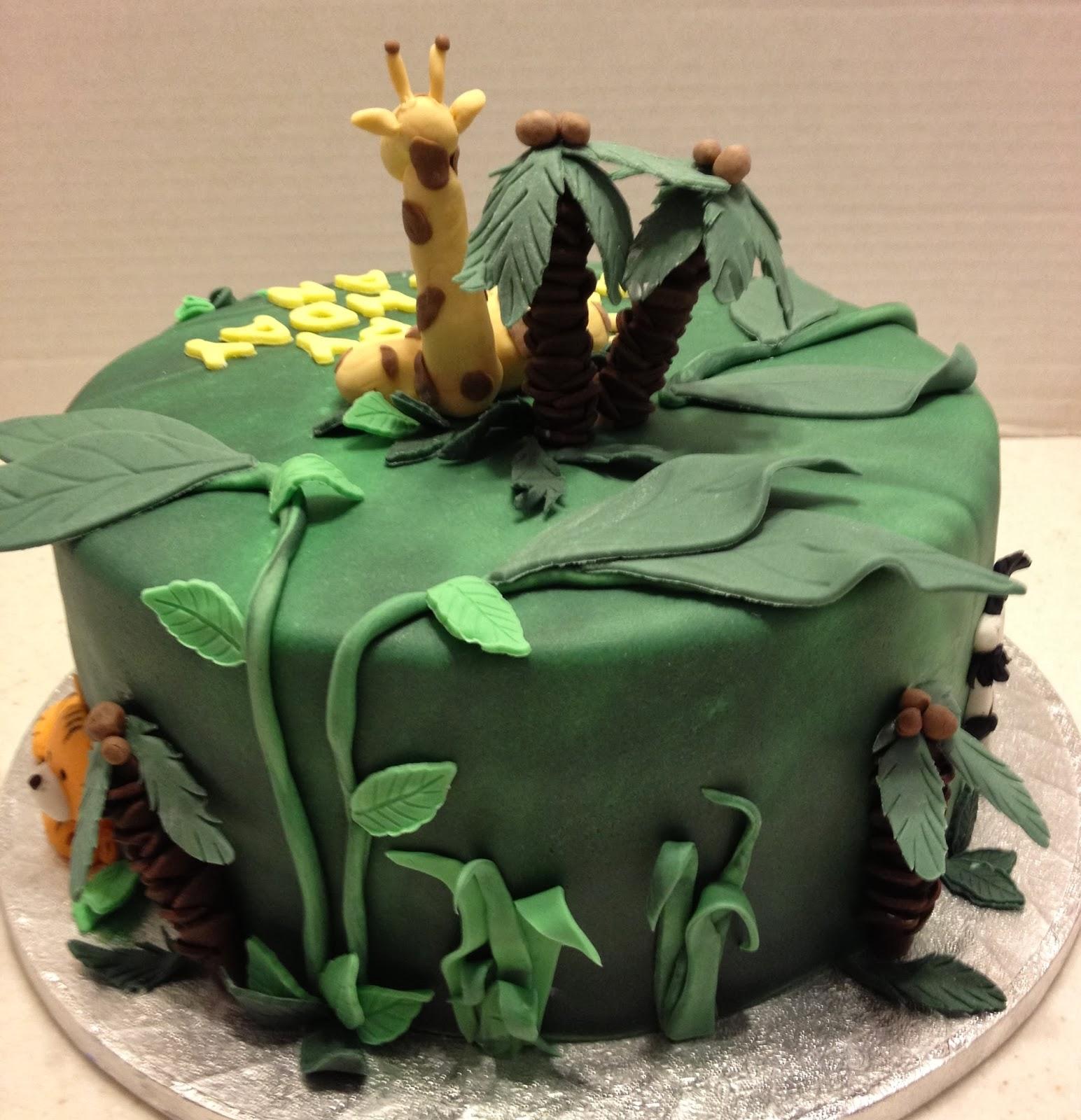 Marymel Cakes Ryan S Jungle Birthday