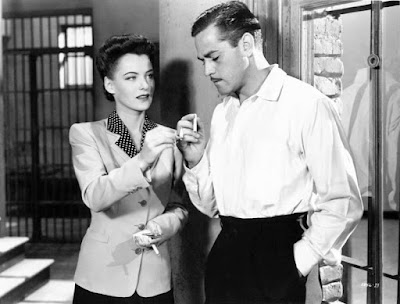 Phantom Lady - Ella Raines and Alan Curtis