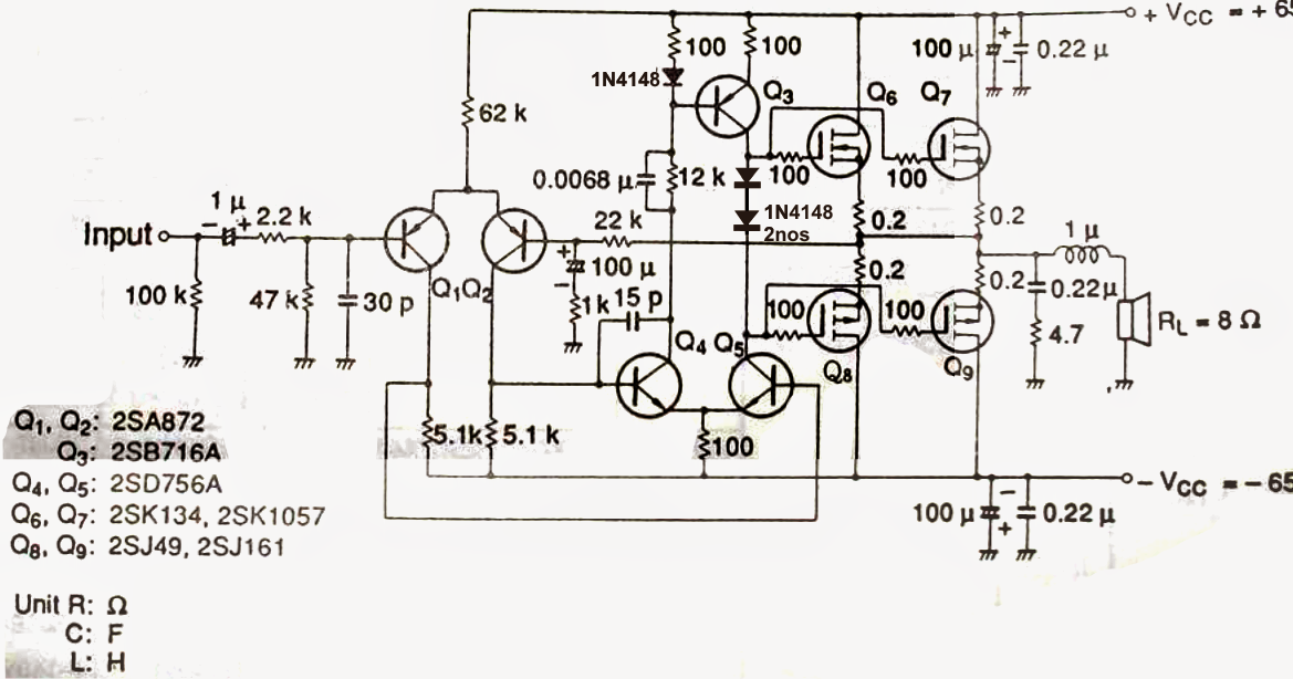 How To Make A Simplest 100 Watt Mosfet Amplifier Circuit