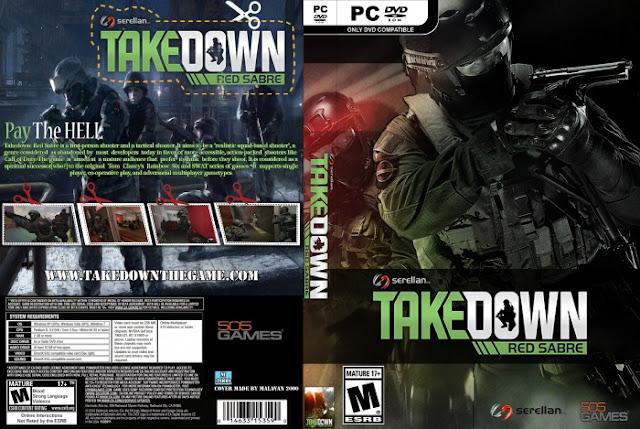 تحميل لعبة takedown red sabre كاملة تورنت + رابط مباشر