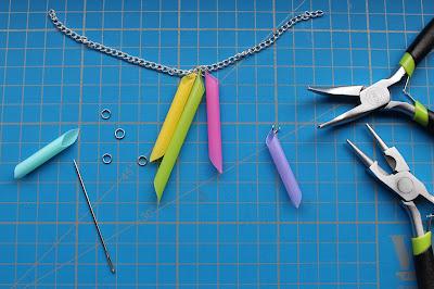 DIY-Basteltipp für eine stylische Kette aus Strohhalmen von ars vera.