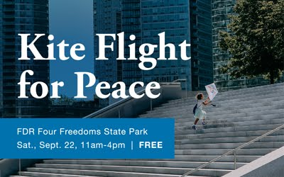 Kite Flight For Peace At FDR Four Freedoms State Park