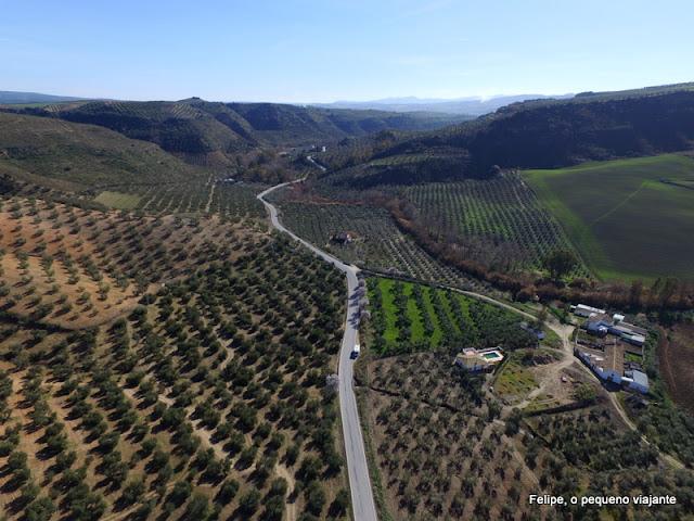 estradas da Andaluzia, Espanha