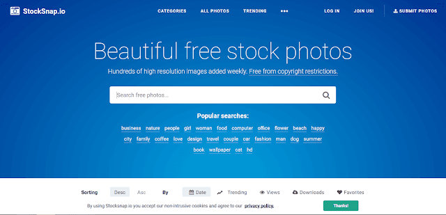 6 Situs Tempat Download Gambar Gratis Untuk Blog