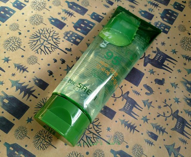 Универсальный крем-гель с алоэ The Saem Jeju Fresh Aloe Soothing Gel 95%