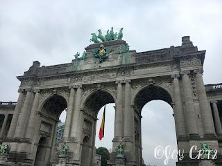 Parc du cinquantenaire, Bruxelles