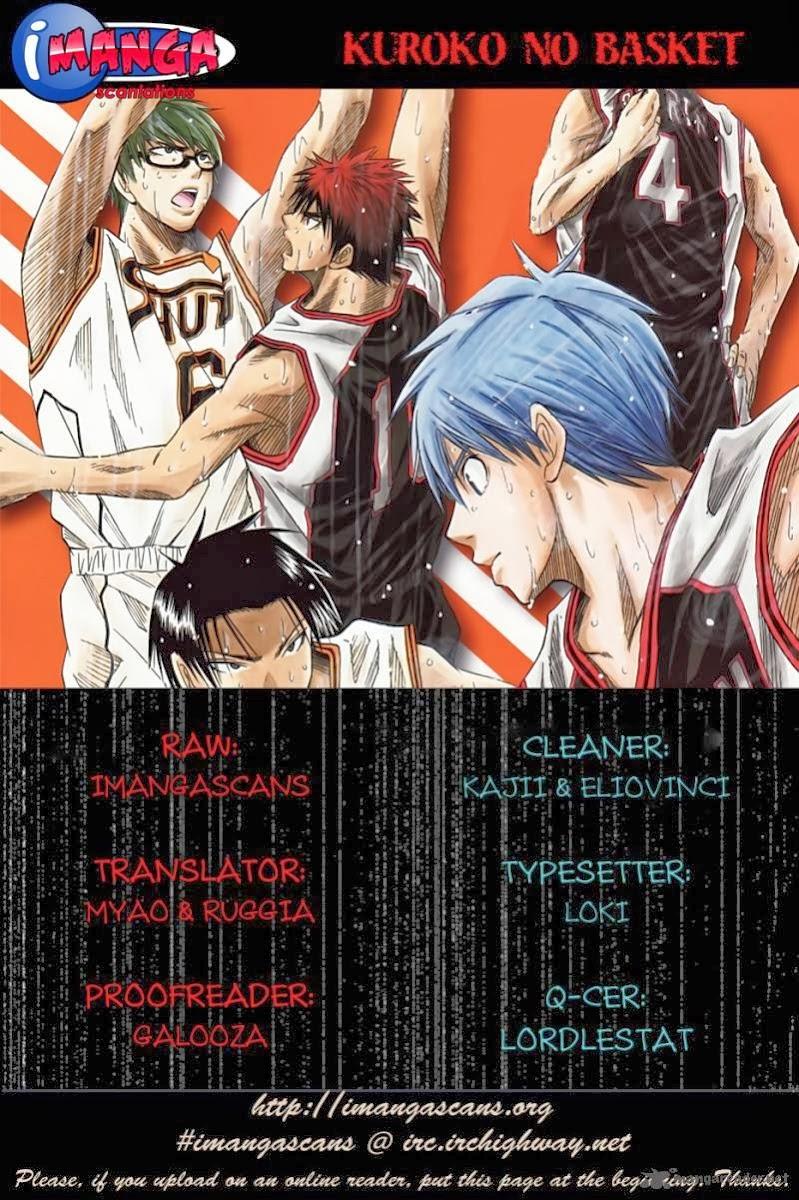 Kuroko No Basket chap 130 trang 20
