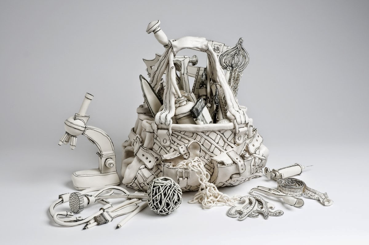 06-Everyday-Exploration-2-Katharine-Morling-Porcelain-Sculptures-www-designstack-co