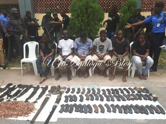 See the weapons, ammunition recovered from richest KIDNAPPER in Lagos