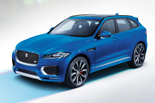 Jaguar F-Pace First Edition (2016) Front Side